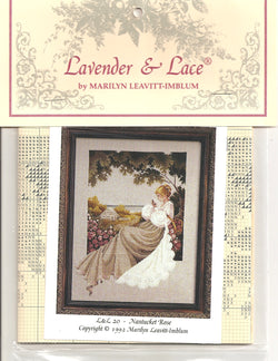 Lavender & Lace Nantucket Rose L&L20 cross stitch pattern