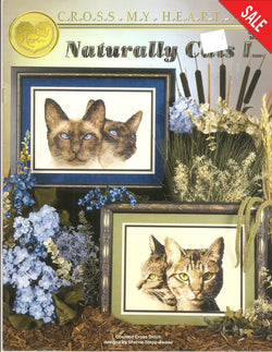 Cross My Heart Naturally Cats CSB-245 cross sttch pattern