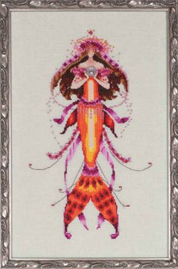 Mirabilia Ophelia's Pearl NC-191 mermaid cross stitch pattern