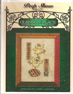 Glendon Place Peep Show GP-177 Easter cross stitch pattern