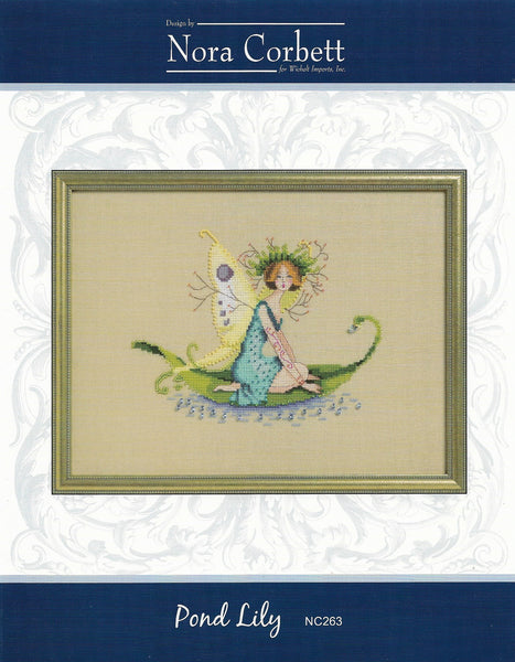Mirabilia Pond Lily NC263 victorian cross stitch pattern