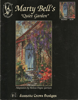 Pegasus Jeanette Crews Marty Bells Quiet Garden cross stitch pattern