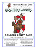 Cross Stitch Wonders Carolyn Manning Reindeer Candy Cane Critter Christmas Cross stitch pattern
