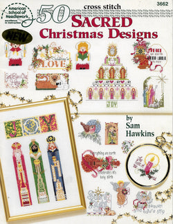 American School of Needlework 50 Sacred Christmas Designs cross stitch pattern