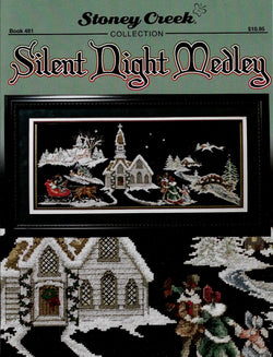 Stoney Creek Silent Night Medley BK481 Christmas cross stitch pattern