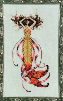 Mirabilia Siren's Song Mermaid NC189 cross stitch pattern