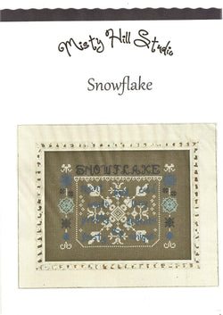 Misty Hill Studio Snowflake cross stitch pattern