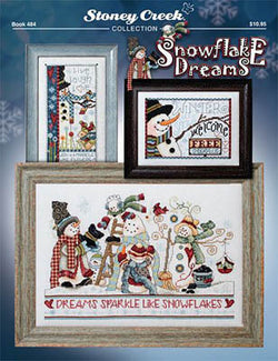 Stoney Creek Snowflake Dreams Christmas BK484 cross stitch booklet
