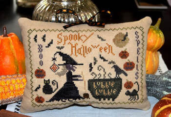 Abby Rose Designs Spooky Halloween cross stitch pattern