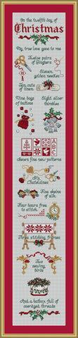 Sue Hillis Stitcher's Days of Christmas Christmas Friends L450 cross stitch pattern