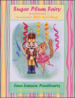 Lena Lawson Sugar Plum Fairy Christmas cross stitch