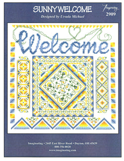 Imaginating Sunny Welcome 2909 cross stitch pattern