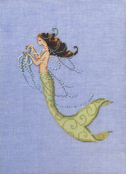 Mirabilia Tesore Mia NC233 mermaid cross stitch pattern