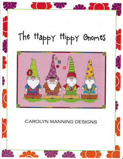 Carolyn Manning The Happy Hippy Gnomes cross stitch pattern