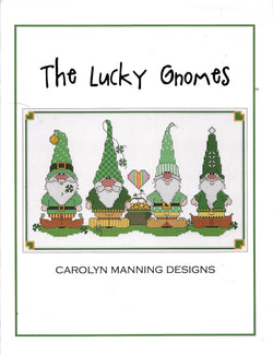 Carolyn Manning The Lucky Gnomes cross stitch pattern