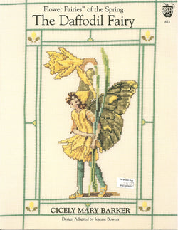 Green Apple The Daffodil Fairy cross stitch pattern
