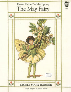 Green Apple The May Fairy cross stitch pattern