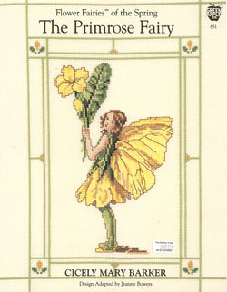 Green Apple The Primrose Fairy cross stitch pattern