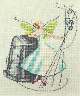 Nora Corbett Thimble Fairy cross stitch pattern