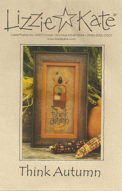 Lizzie Kate Think Autumn LK118 cross stitch pattern