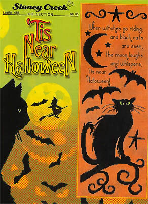 Stoney Creek 'Tis Near Halloween LFT465 cross stitch pattern