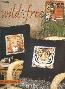 Leisure Arts Wild and Free 3251 cross stitch pattern
