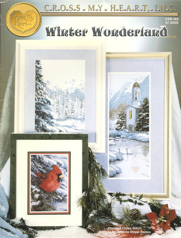 Cross My Heart Winter Wonderland CSB-265 cross stitch pattern