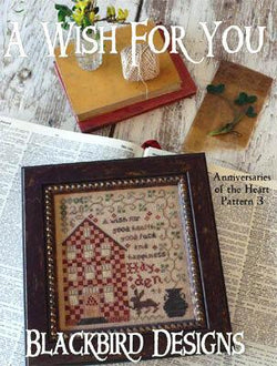 Blackbird Designs A Wish For You cross stitch pattern