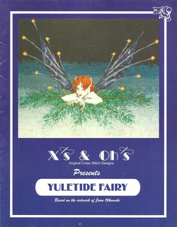 X's and Oh's Yuletidr Fairy cross stitch pattern