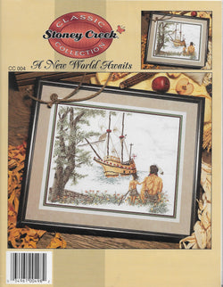 Stoney Creek A New World Awaits CC004 cross stitch pattern