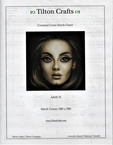 Tilton Crafts Adele II cross stitch pattern