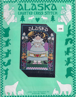 Arctic Circle Alaska counted cross stitch kit