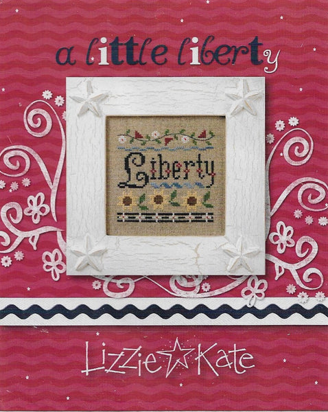 Lizzie Kate A little liberty patriotic cross stitch pattern