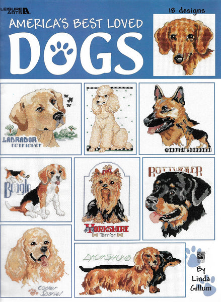 America's Best Loved Dogs pattern