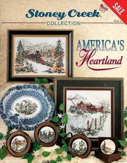 Stoney Creek America's Heartland BK113 cross stitch pattern