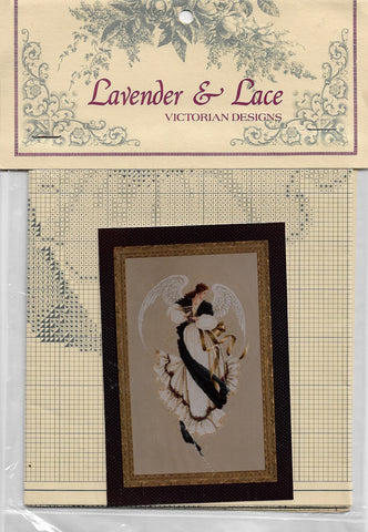 Lavender & Lace Angel of Hope L&L13 cross stitch pattern