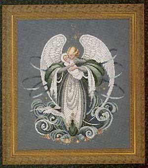 Lavender & Lace Angel of the Sea L&L37 cross stitch