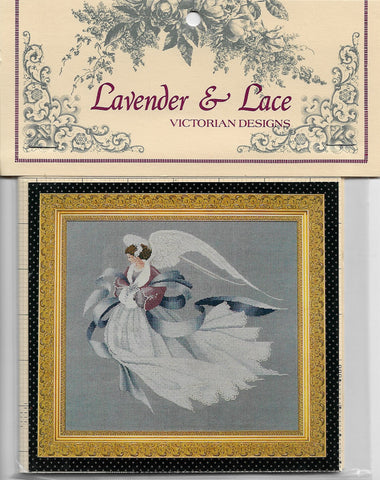 Lavender & Lace Angel of Winter L&L33 cross stitch pattern