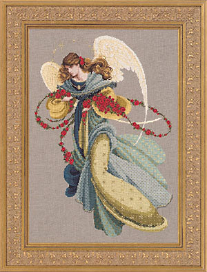 Lavender & Lace Angelica L&L44 cross stitch pattern