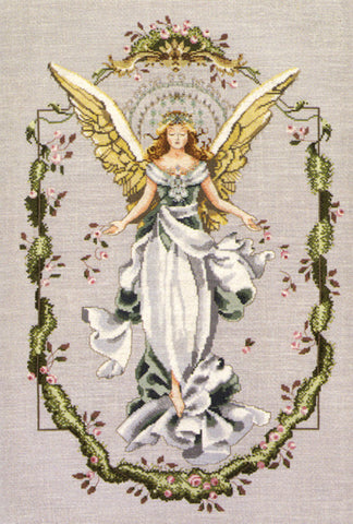 Mirabilia Angel of a New Dawn Nora Corbett MD-65 cross stitch pattern