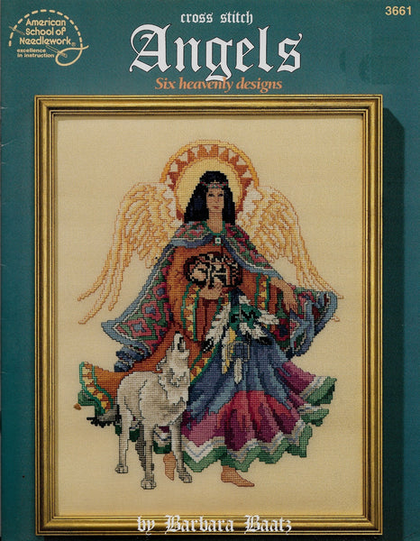 American School of Needlework Angels 3661 cross stitch pattern
