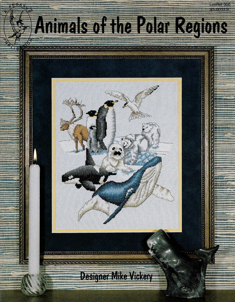 Pegasus Animals of the Polar Regions cross stitch pattern