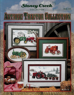 Stoney Creek Antique Tractor Collection BK253 cross stitch pattern