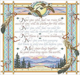 Kooler design studio Apache Wedding Blessing cross stitch pattern