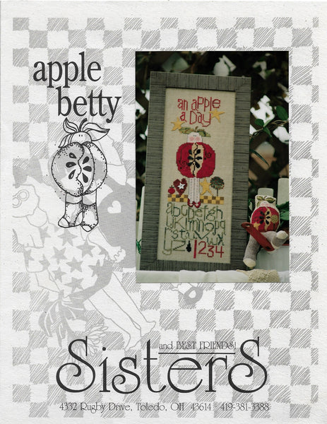 Sisters & Best friends Apple Betty cross stitch pattern