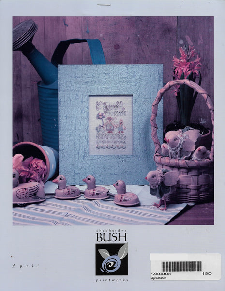 Shepherds Bush April Cross stitch pattern