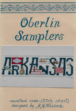 oberlan Arkansas cross stitch pattern