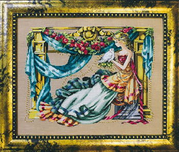 Mirabilia Athena Goddess of Wisdom MD97 Nora Corbett cross stitch pattern