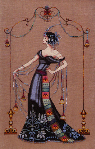 Mirabilia At The Met MD-135 victorian cross stitch