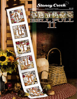 Stoney Creek Autumn Bell Pull II LFT402 cross stitch pattern